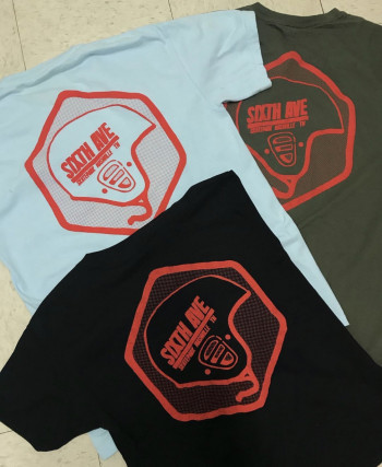 Sixth Ave Safety T-shirt Powder Blue