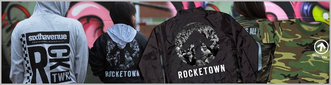 Shop Rocketown Apparel and Accessories